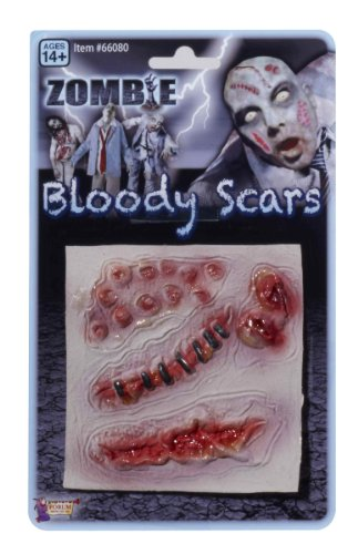 Forum Novelties Men's Zombie Bloody Scars Costume Accessory