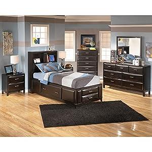 kira youth storage bedroom set twin bedroom