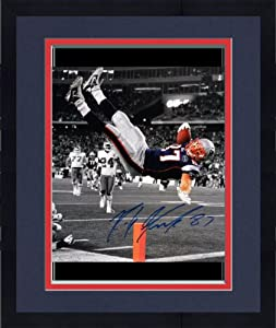 Framed Rob Gronkowski New England Patriots Autographed 16