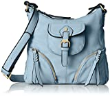 MG Collection Evelina Fashion Top Closure Multiple Pocket Travel Purse Cross Body Bag