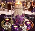 Silver Diamond Wrap Ribbon Trim Wedding Deocoration