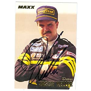 Keller Auto Racing on Jason Keller Autographed Hand Signed Trading Card  Auto Racing  1994