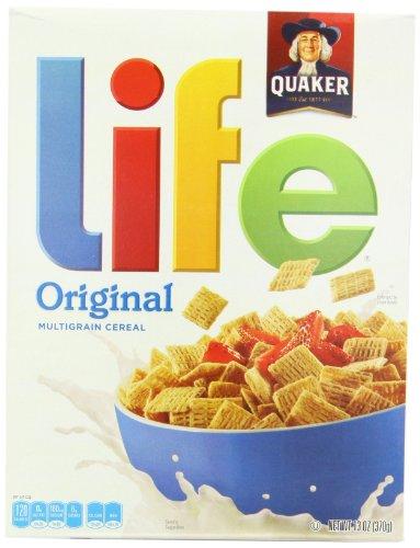 Quaker Life Original Cereal 370 g (Pack of 2)