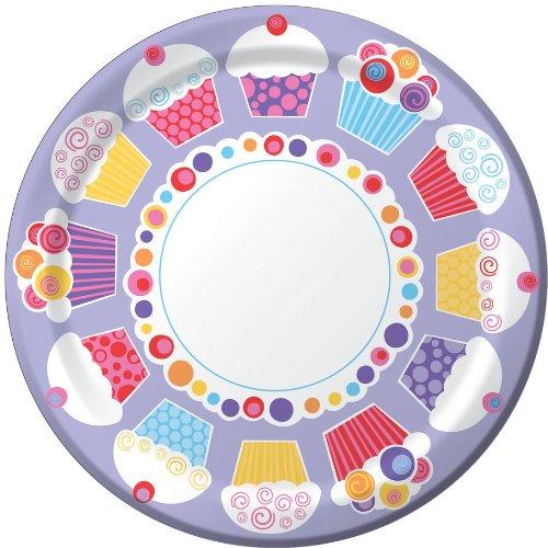 Cupcake Value Dinner Plates - 1