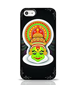 Stylebaby Kerala Traditional Painting Black Apple iPhone 5C Phone Case