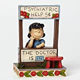 "Jim Shore Peanuts Collection Lucy The Dr Doctor is In Figurine,6""h"