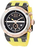Mulco MW5-1621-095 47 Stainless Steel Case Yellow Plastic Band Men's & Women's Watch