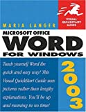 img - for Microsoft Office Word 2003 for Windows book / textbook / text book