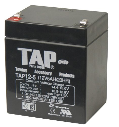 Hopkins 20008 12V Rechargable Battery