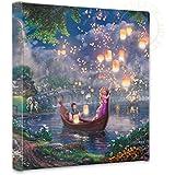 Thomas Kinkade Tangled 14x14 Gallery Canvas Wrap