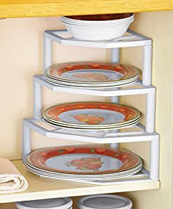 3-Tier Kitchen Cabinet Corner Shelf