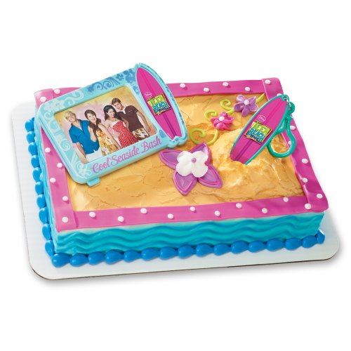 Decopac Teen Beach Movie Surfboard Clip DecoSet Cake Topper