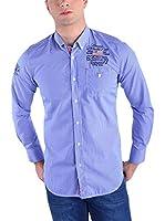 Galvanni Camisa Hombre Steady (Azul)