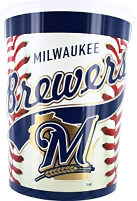 Milwaukee Brewers Waste Basket