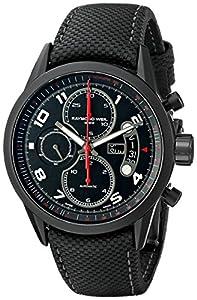 Raymond Weil Men's 7730-BK-05207 Chronograph Automatic Watch