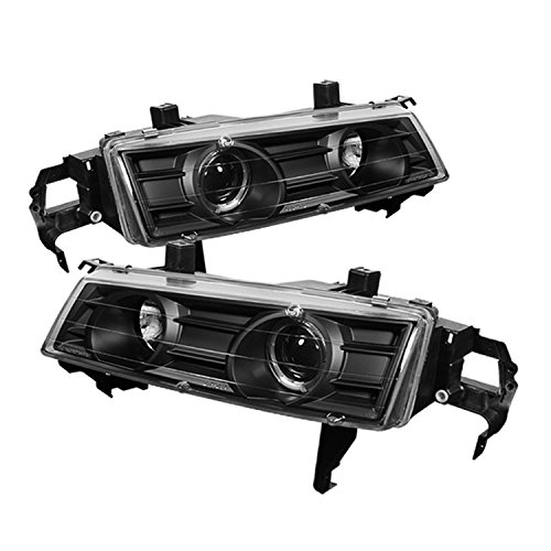 Spyder Auto PRO-YD-HP92-BK Honda Prelude Black Halo Projector Headlight (Halo Lights For Honda Prelude compare prices)