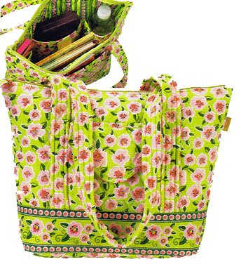 Maggi B French Country Rose Blossom Everyday Tote Handbag - Fall 2007 #MB02807