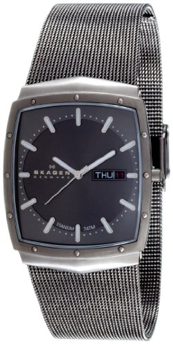 Skagen Men's 396LTTM Titanium Watch