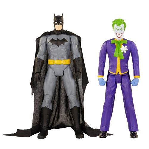"DC Universe 20"" Figures Batman and Joker Action Figure"