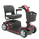 Pride Mobility Victory 9 4-Wheel Scooter, Candy Apple Red