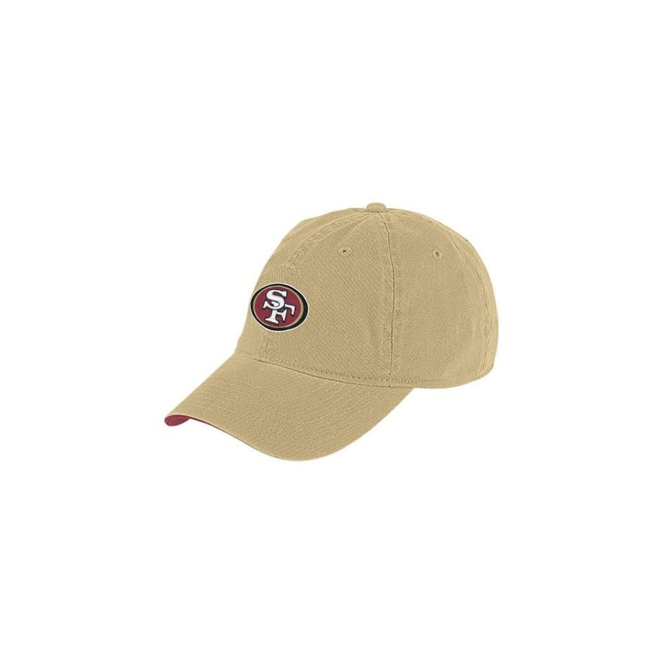 Reebok San Francisco 49ers Gold Basic Logo Slouch Hat