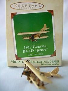 "Hallmark Keepsake Ornament 1917 Curtiss JN-4D ""Jenny"" - Miniature Collector's Series"