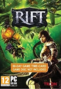 Rift 60 Day Time Card - Platform Independent (No Game Included)