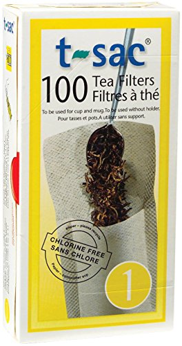 Buy Cheap Tea Filter Bags, Disposable Tea Infuser, Size 1, Set of 100 Filters - from Magic Teafit
