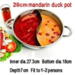 Generic Duck hot pot thick stainless...