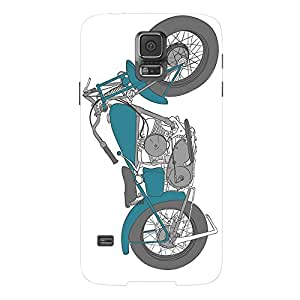 Fusion Gear Motor Cycle Case for Samsung Galaxy S5