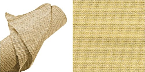 Coolaroo Heavy Shade Fabric Roll 6ft by 15ft Wheat