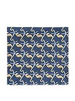 DEL RE Pañuelo De Bolsillo (Azul)