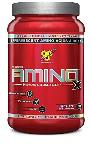 BSN AMINO X - Fruit Punch, 2.24 lb (70 Servings)