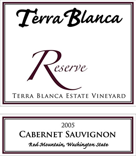 2005 Terra Blanca Reserve Red Mountain Cabernet Sauvignon 750 Ml