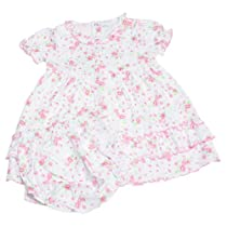 Kissy Kissy - June Blooms Print Dress - Pink-2T