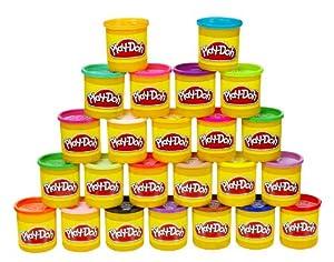 Play-Doh 20383 - Pack de 24 tarros de plastilina