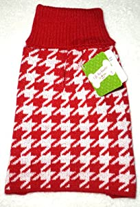"DOG HOUNDSTOOTH ""UGLY"" SWEATER Christmas Holidays Winter Pet Turtleneck SMALL by Horizon"