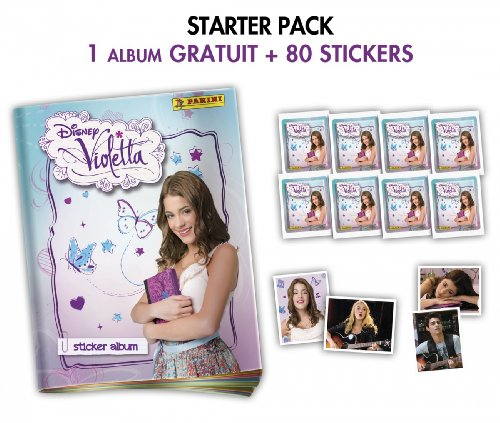 Panini 1 album gratuit 80 stickers violetta la - Jeux gratuit de violetta ...