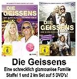 Die Geissens - Eine schrecklich glamouröse Familie: Staffeln 1+2 (5 DVDs)
