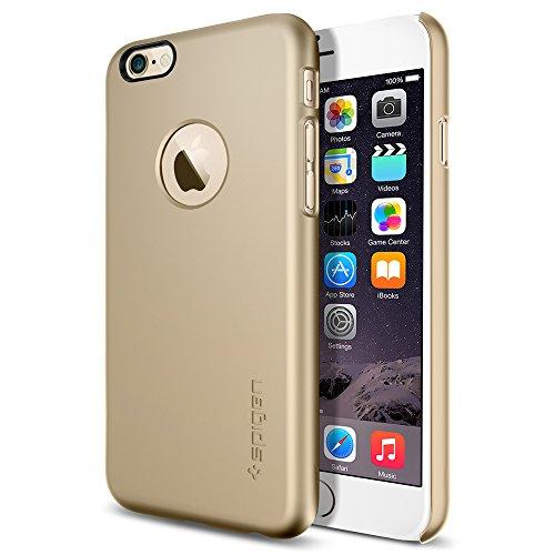 iPhone 6 ケース Spigen Apple iphone 4.7 (2014) シン・フィットA (国内正規品) (シャンパン・ゴールド SGP10943)