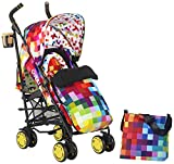 Cosatto Supa Stroller with Change Bag (Pixelate)