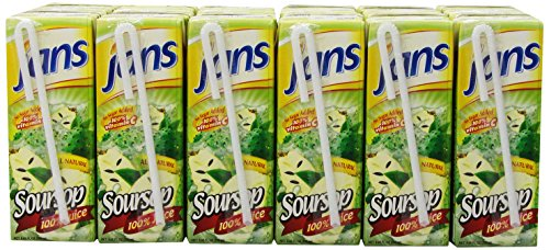 Jans Soursop Exotic Tropical Juice, 8.45 oz., 24-Count