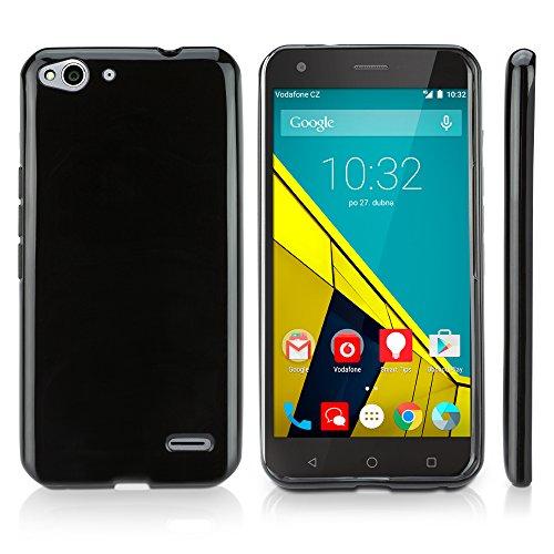 vodafone-smart-ultra-6-case-boxwaver-tuxedo-suitup-case-glossy-black-tpu-gel-skin-case-for-vodafone-
