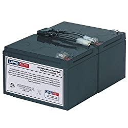 RBC6 Battery Pack Replacement for APC Smart-UPS 1000 SUA1000