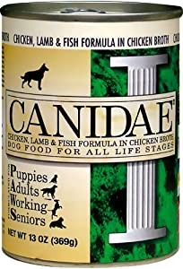 CANIDAE 404122 12-Pack Can Food for Dogs, 5.5-Ounce
