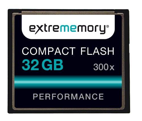 32GB Compact Flash Card High Speed CF, 32GB, 300x
