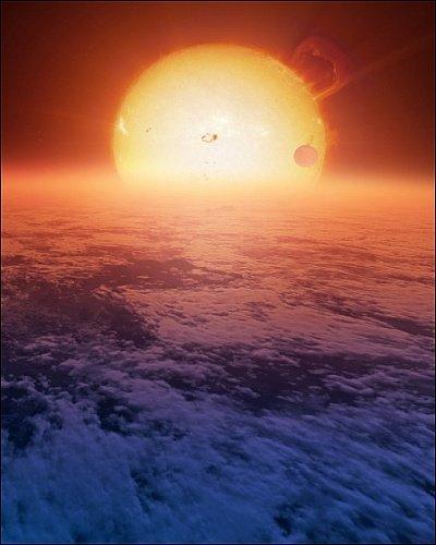 Extrasolar super-Earth