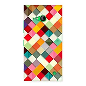 Special ColorFull Ribbons Print Back Case Cover for Lumia 730