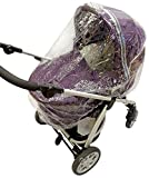 Universal Raincover To Fit Mamas And Papas Sola Luna Urbo Carrycot Ventilated 198