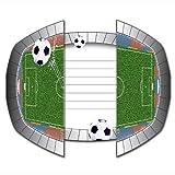 Folat Invitation Cards Soccer Live, 8 Pcs